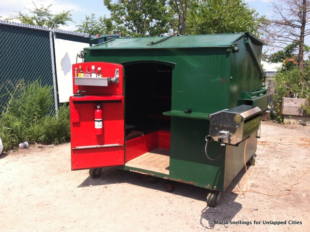 What Would You Do with Trash Dumped by YOUR House?